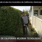 Noticias Telemundo resalta tecnología bomberos de California para combatir incendios; Vídeo