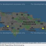 Últimas 48 horas 20 temblores: 1 en Cotuí, 1 Isla Catalina, 14 Jimaní, 2 Miches,1 Pedernales y 1 en Pedro Santana