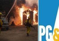 Acusan a PG&E de homicidio involuntario por incendio forestal mató a 4 personas en California