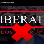 Este domingo es su cita con «Fuera Macarrulla del Palacio Nacional» Vídeo