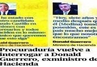 Donald, Peralta, Marchena y el dueño del condominio (Décima)