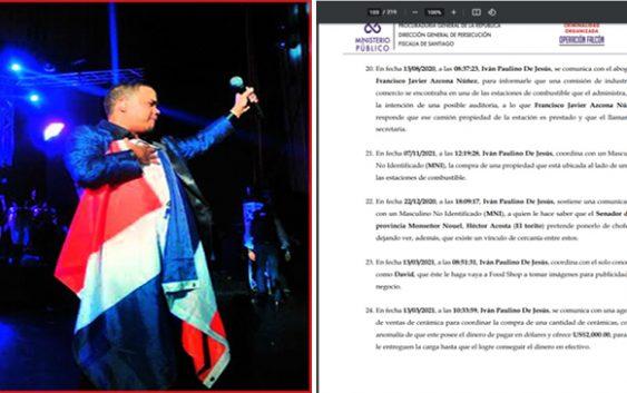 Ministerio Público cita al senador de Monseñor Nouel; Héctor Acosta «El Torito» dice desconoce ese grupo