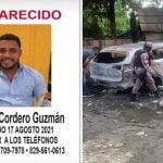 Aún sin localizar joven Erick Daniel Cordero Guzmán desaparecido; Su vehículo fue encontrado quemado