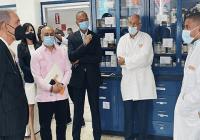 Ministro del Mescyt apoya planes de investigaciones científicas del Instituto de Innovación en Biotecnología e Industria