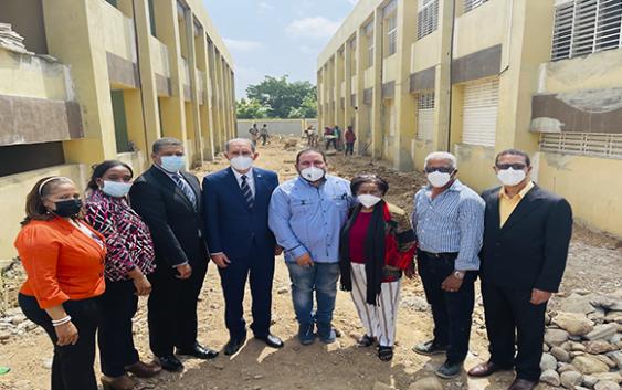 Mescytda seguimiento a construcción UASD en La Vega; Dará apoyo a once programas de maestrías