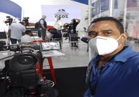 Solicitan colaboración para tratar cáncer del reportero gráfico Moisés de la Cruz