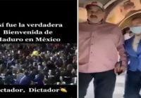 Sorprendente la jubilosa bienvenida al Galipote de Venezuela en M♪xico; Vídeo
