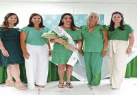 Estrellas Orientales escogen a la señorita Nadja Marie Mir Musa como madrina temporada 2021-2022