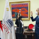 Mescyt juramenta aPaula Disla Acosta como viceministra de relaciones internacionales