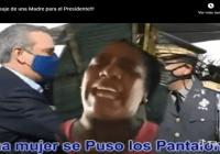 Advierte a Abinader que si un policía le mata un familiar le matará su madre «A ver si duele coño»; Vídeo